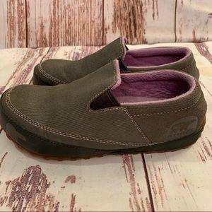 Sorel Slip On Shoes Grey Women's 5 Loafers